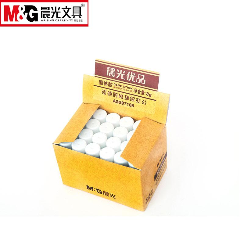 晨光优品圆筒型8g固体胶 ASG97108  4支